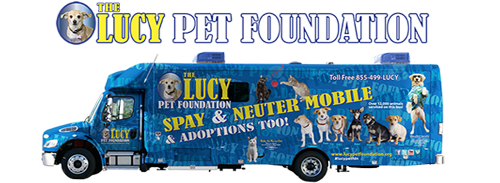 The Lucy Pet Foundation Logo